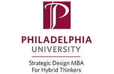 Philadelphia University Strategic Design MBA Logo