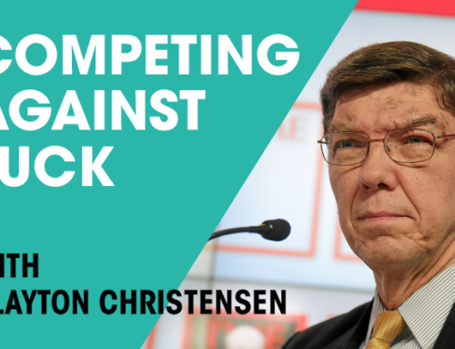 Rescheduled: January 6, 2017 Clayton Christensen Event
