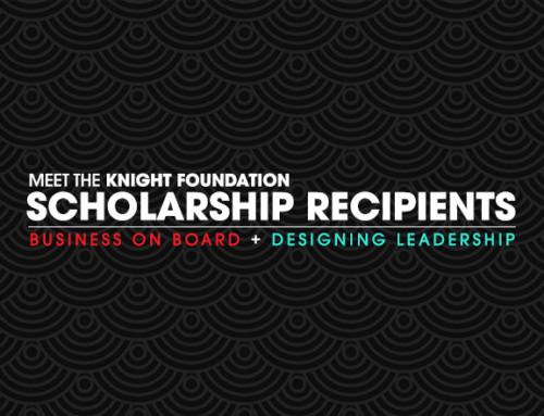 Meet the Knight Foundation Scholarship Recipients