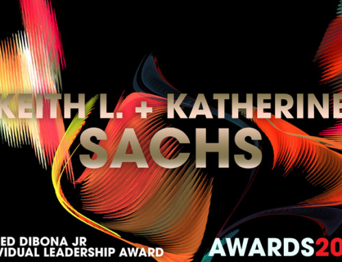 G. Fred DiBona, Jr. Individual Leadership Award 2017 Winners Keith L. + Kathy Sachs