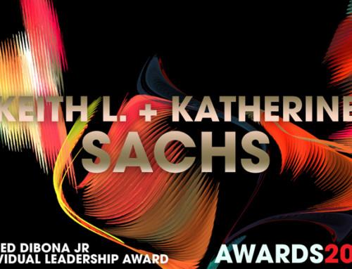 G. Fred DiBona, Jr. Individual Leadership Award 2017 Winners Keith L. + Kathy Sachs