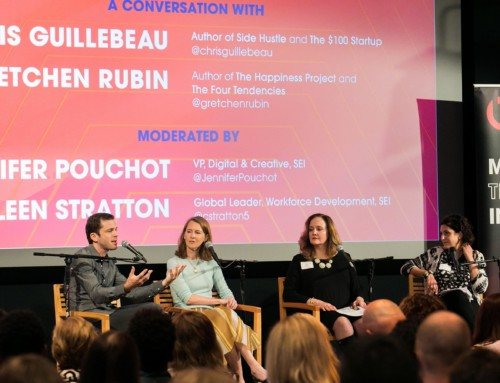 Relive the Recap: Hustle For Hire with Chris Guillebeau + Gretchen Rubin, September 27, 2017