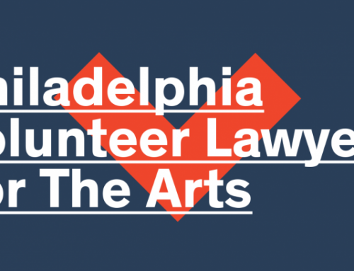 Philadelphia Volunteer Lawyers for the Arts (PVLA) to Return to Operating as an Independent Nonprofit