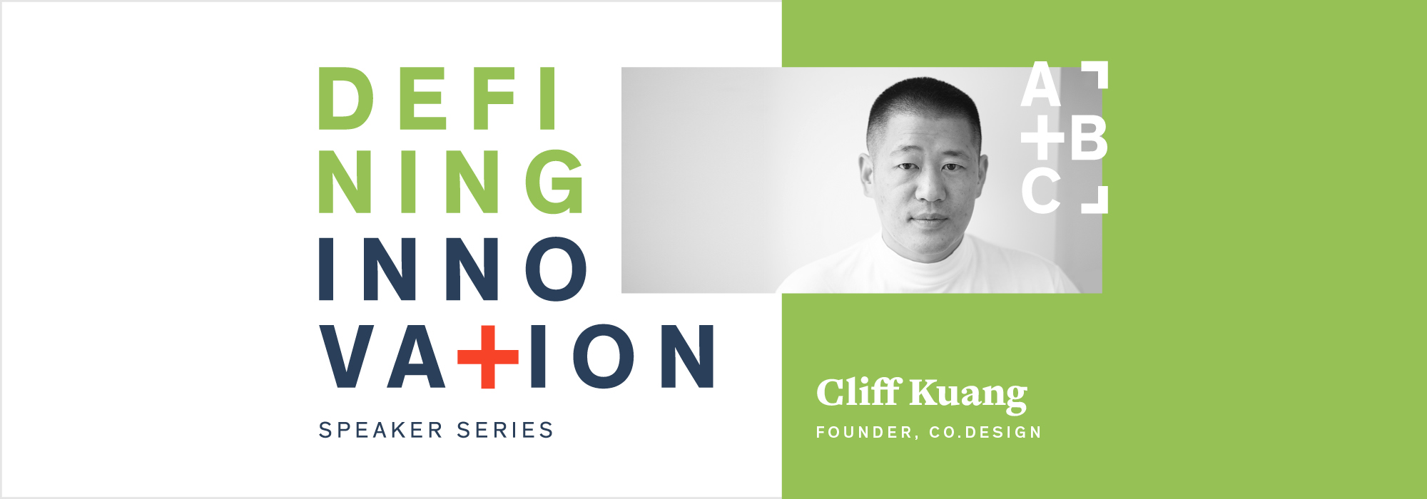 Defining Innovation Presents Cliff Kuang