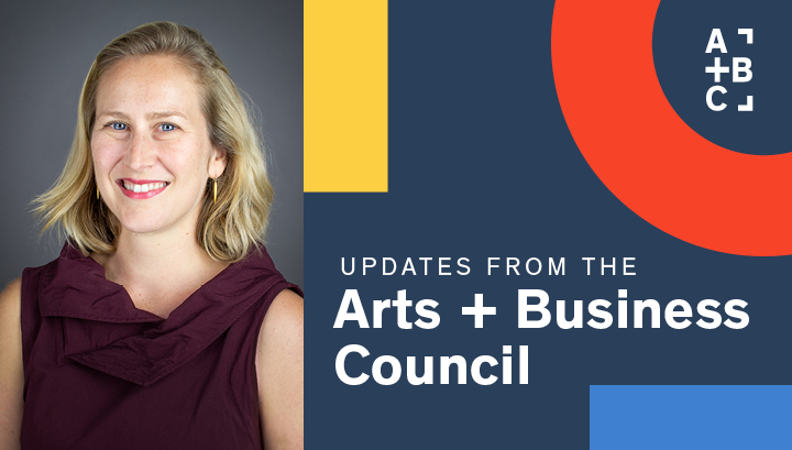 Diana Lind Arts + Business Council Update