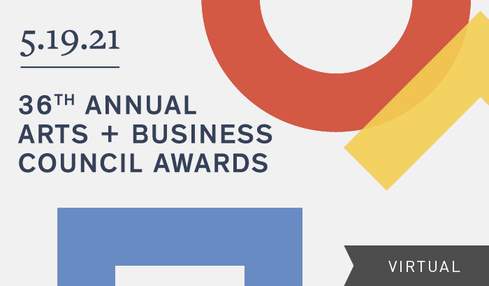 36th Annual Arts + Business Council Awards News post header