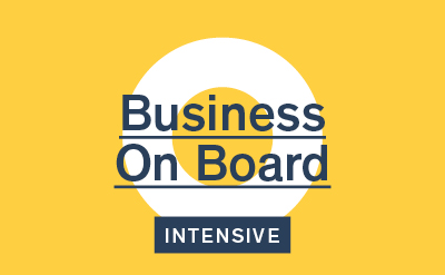Business on Board Intensive